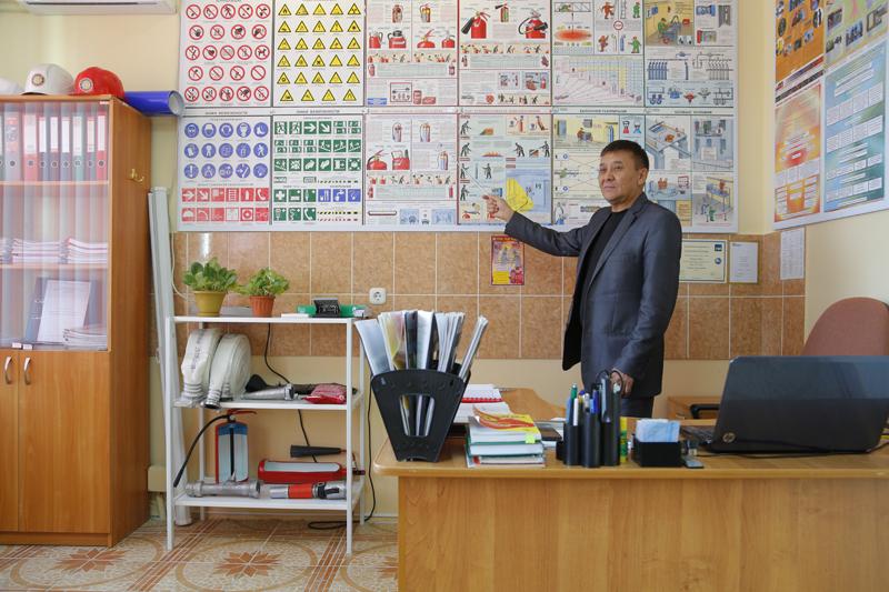 Новости Уральск - В Каратобинском районе провели обучение для добровольных противопожарных формирований
