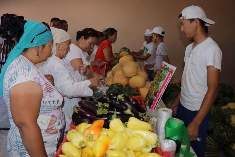 Новости Атырау - Местные арбузы по 80 тенге за килограмм продают в пригороде Атырау