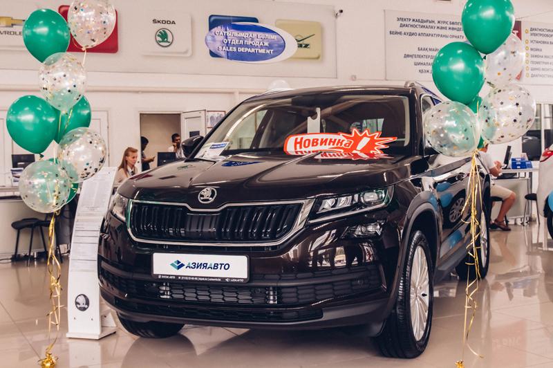 Новости Уральск - Стильный кроссовер Skoda Kodiaq представил холдинг «Бипэк Авто – Азия Авто»