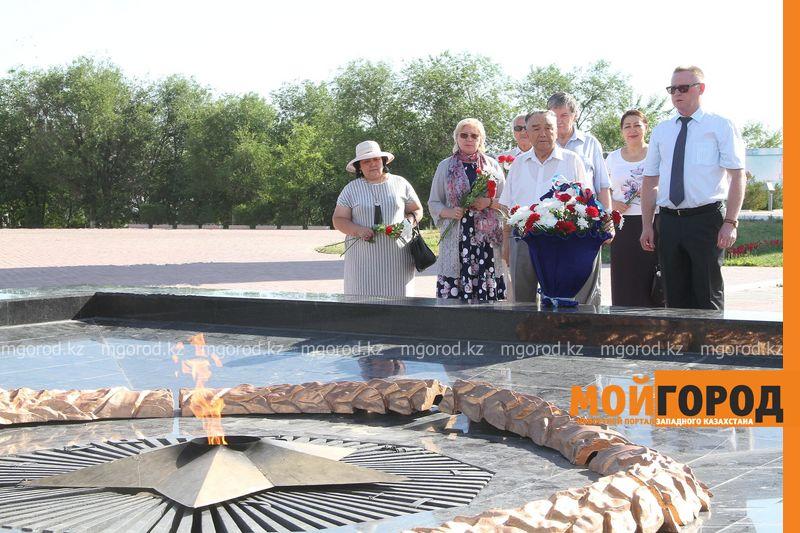 В Уральске отметили 75-летие Курской битвы