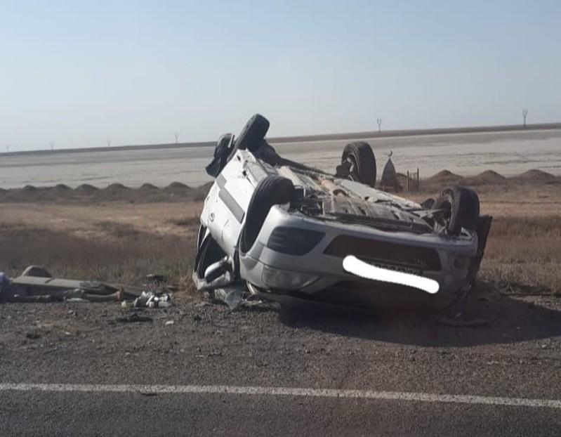 Новости Атырау - Пассажир погиб в ДТП в Атырауской области