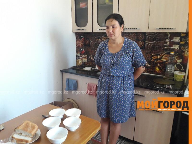 Новости Атырау - В Атырау мать-одиночка с четырьмя детьми оказалась на улице