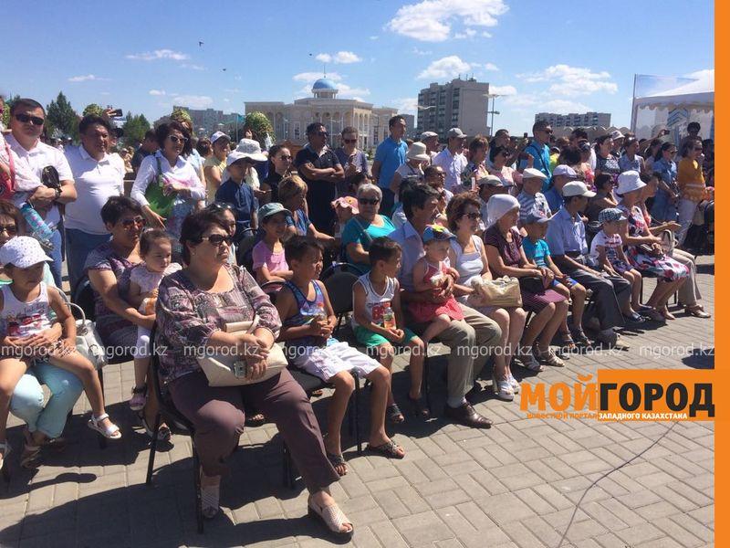 Новости Уральск - Юбилей столицы отметили на площади Уральска