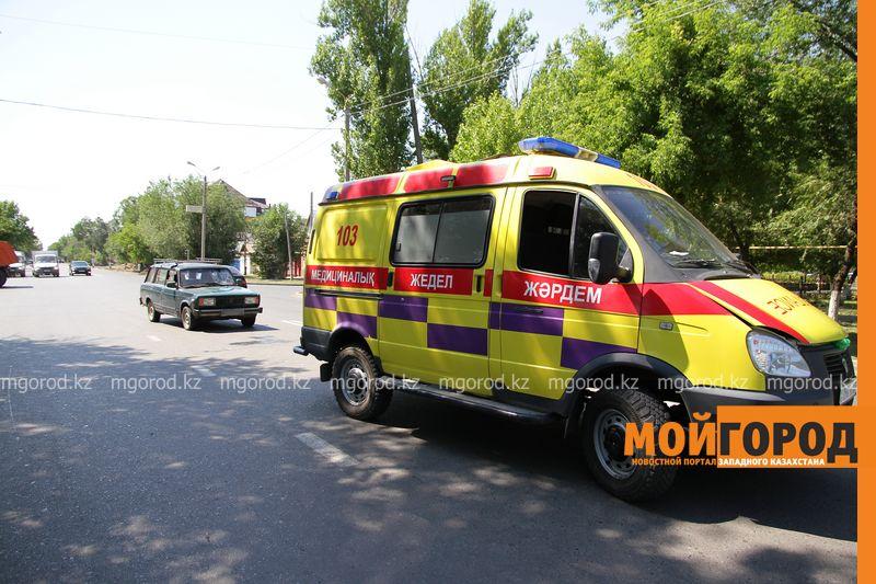 Новости Уральск - В Уральске сбили девушку на пешеходном переходе