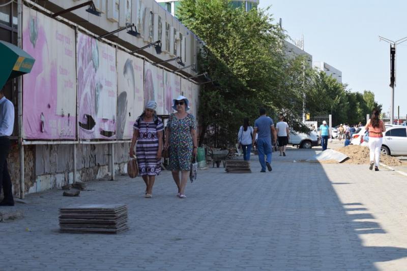 Новости Атырау - В Атырау предпринимателей штрафуют за несоблюдение правил благоустройства территории