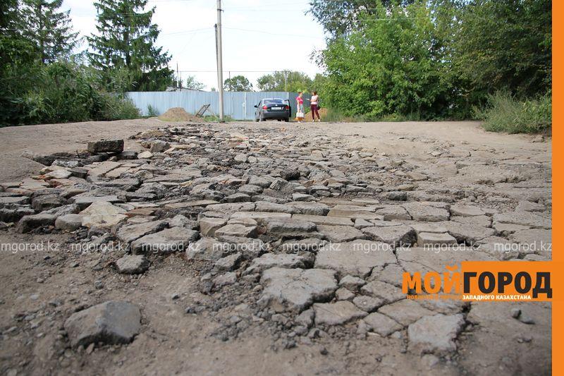 Новости Уральск - Жители поселка Деркул просят отремонтировать им дорогу