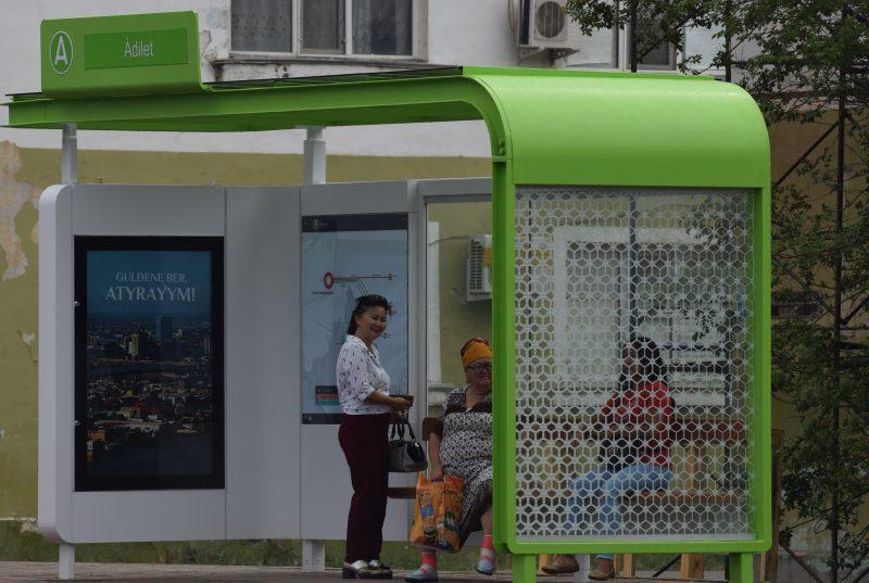 Новости Атырау - 23 новых остановочных павильона установят в Атырау до конца года