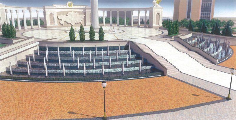 Новости - В Атырау начинается строительство 91-метрового флагштока