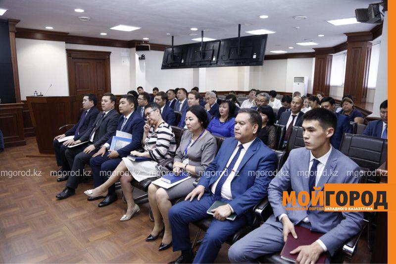 Акиматы Атырауской и Мангистауской областей подписали меморандум о сотрудничестве
