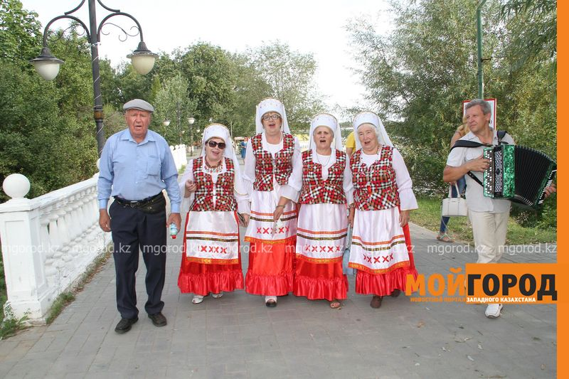 Новости Уральск - В Уральске отметили белорусский народный праздник Ильин день