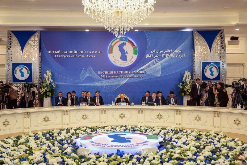 Новости - В Актау главы пяти стран подписали Конвенцию о правовом статусе Каспия