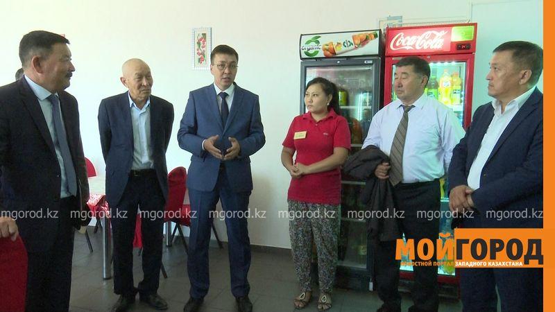 Эстафету марафона «Адал жол» передали Сырымскому району ЗКО