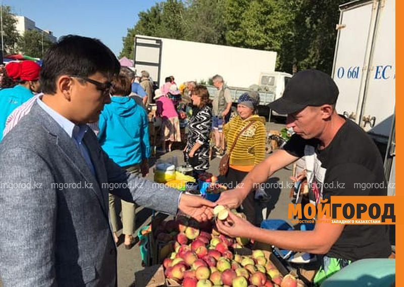 Новости Уральск - Аким ЗКО ознакомился с работой сельскохозяйственной ярмарки