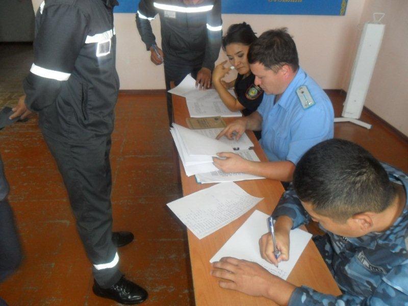 В Атырау осужденным рассказали, какие виды наказания могут заменить срок лишения свободы
