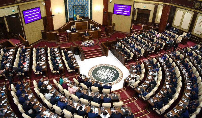 Новости - Совместное заседание палат Парламента прошло в Астане