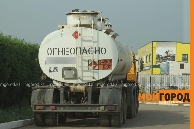 Новости Актобе - В Актобе взорвался бензовоз, 2 человека находятся в реанимации