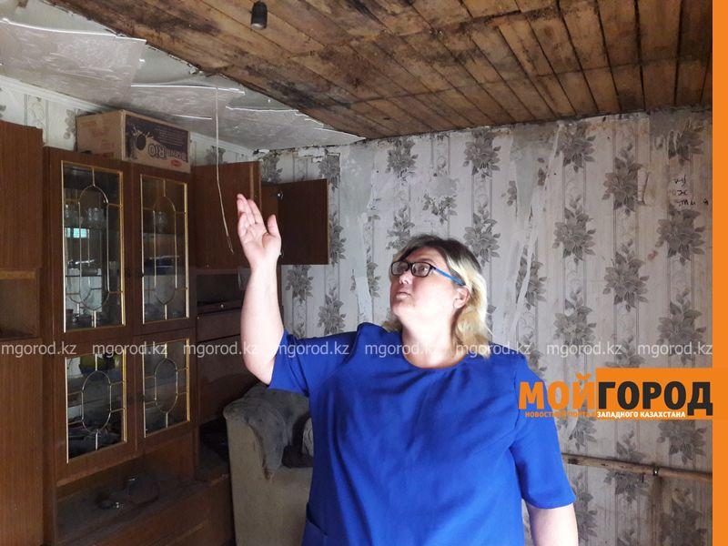 Новости Уральск - У многодетной семьи в Уральске сгорел дом