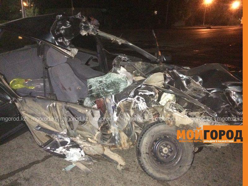 Новости Уральск - В Уральске скончался пассажир автомобиля, столкнувшегося с локомотивом