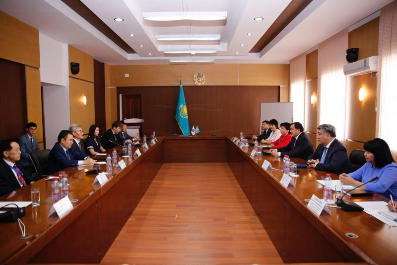 Чрезвычайный и Полномочный посол Южной Кореи прибыл в Атырау на открытие чемпионата Азии по тхэквондо