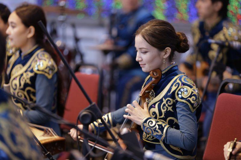 Новости Атырау - В Атырау прошел концерт Президентского оркестра службы государственной охраны РК