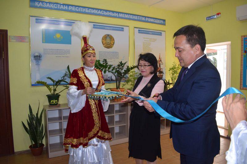 Новости Атырау - В Атырау открылся очередной IT-класс для школьников