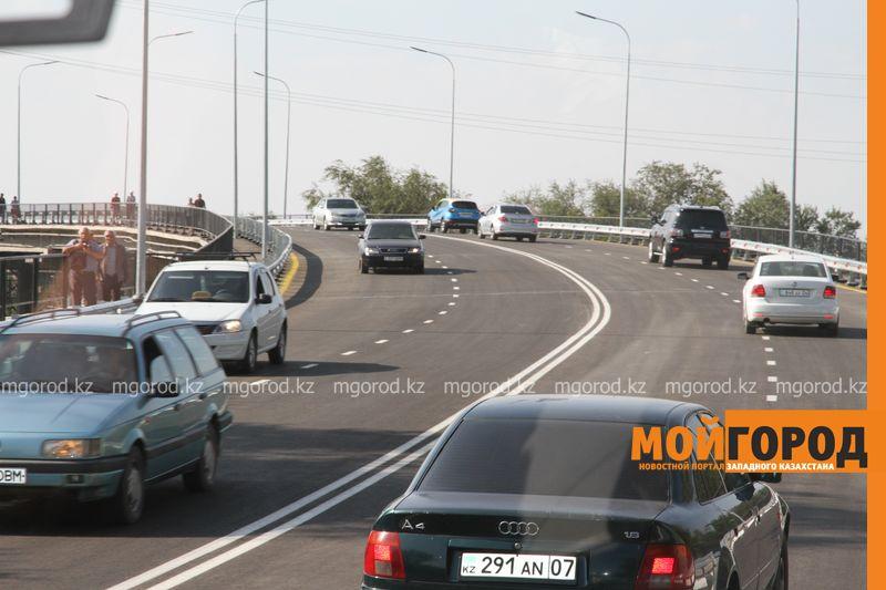 Деповской мост открыли в Уральске