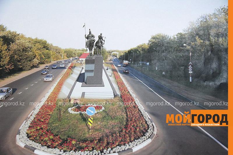 Стало известно, где установят памятник Махамбету и Исатаю в Уральске
