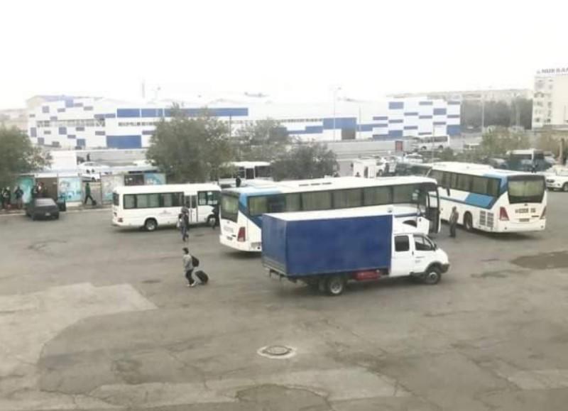 Новости Атырау - Въезд на автовокзал Атырау стал бесплатным