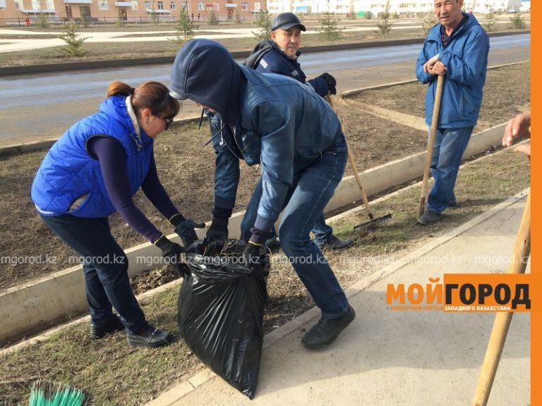Новости Уральск - Более 8 тысяч уральцев вышли на субботник