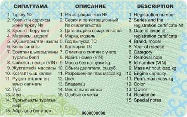 Новости - Новые техпаспорта с чипами в Казахстане начнут выдавать с 1 января 2019 года