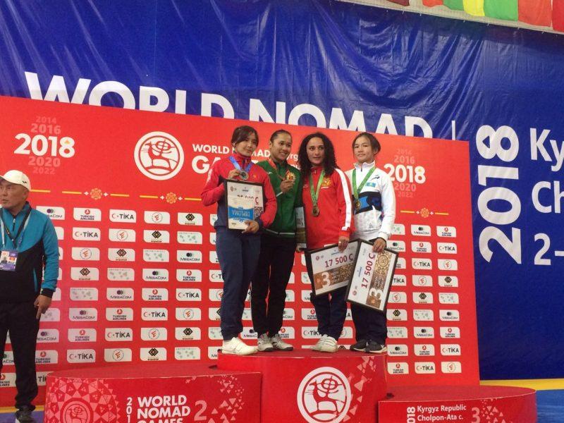 Новости Атырау - Атырауские спортсмены завоевали две бронзы на Всемирных играх кочевников