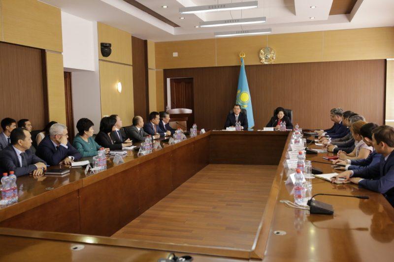 Акимат Атырауской области заключил меморандум с Жилстройсбербанком