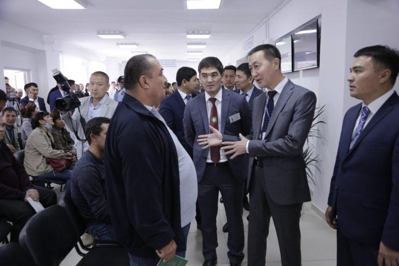 Новости Атырау - В Атырау открылся центр миграционных услуг