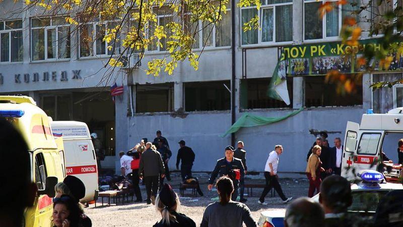 20 человек погибли при стрельбе в городе Керчь