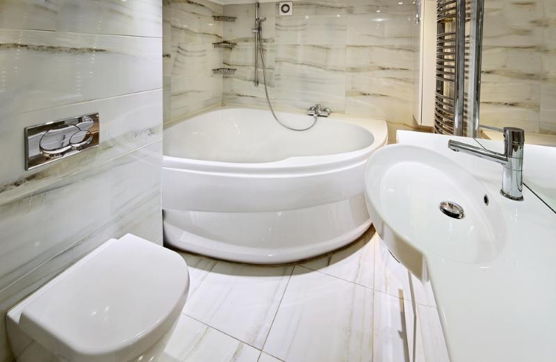 Новости PRO Ремонт - Почему не нужно устанавливать угловую ванну
