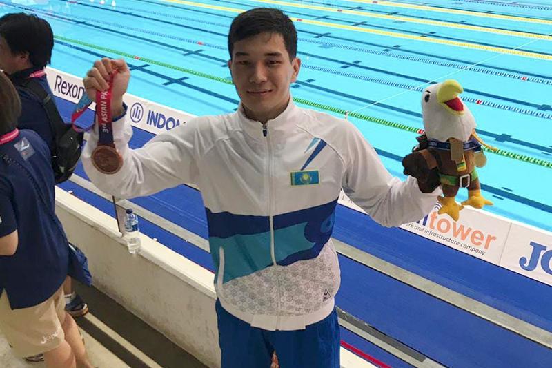 Новости Атырау - Атырауский пловец стал чемпионом III Параазиатских игр
