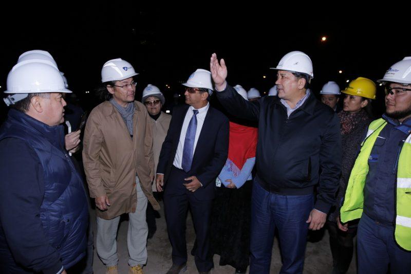 Новости Атырау - О ходе реконструкции площади Исатая-Махамбета рассказали акиму Атырауской области