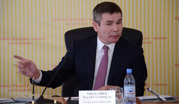 В Атырау начинается рассмотрение уголовного дела в отношении Бергея Рыскалиева и его сообщников