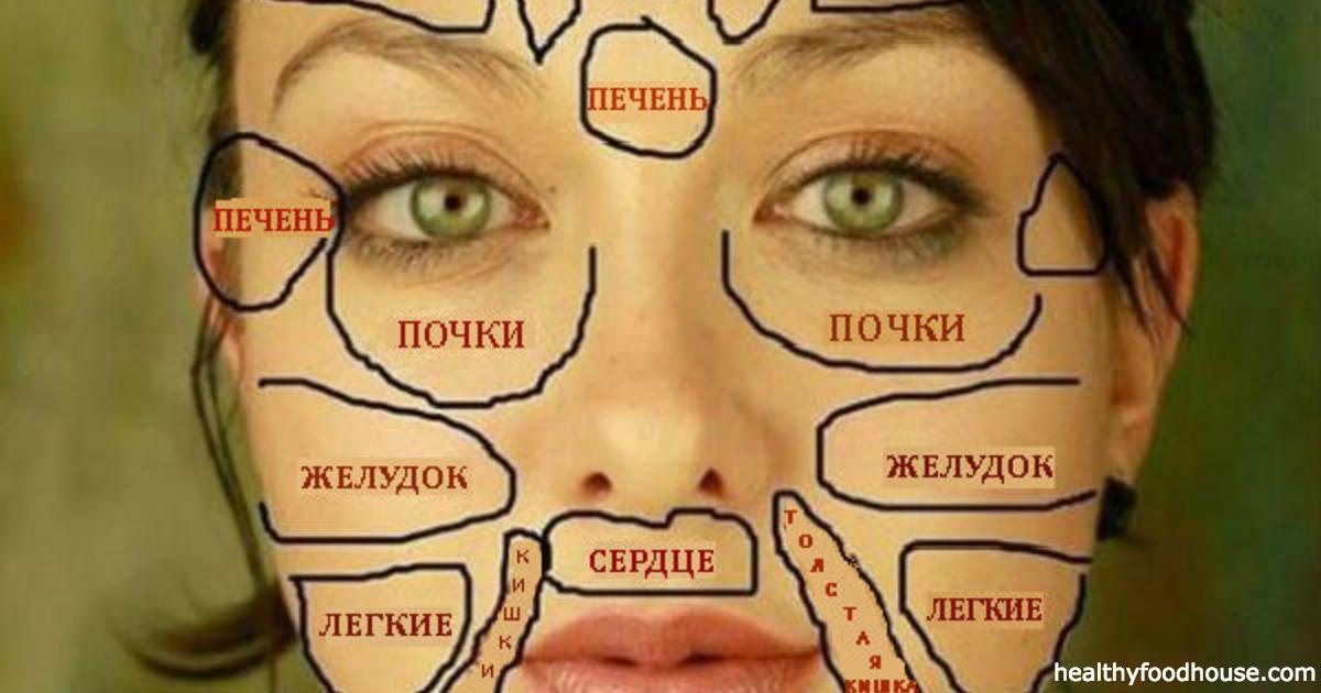Новости Медицина - Китайская «карта лица» покажет, есть ли у вас проблемы со здоровьем