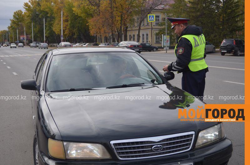 224 автомобиля водворены на штрафстоянку в ЗКО