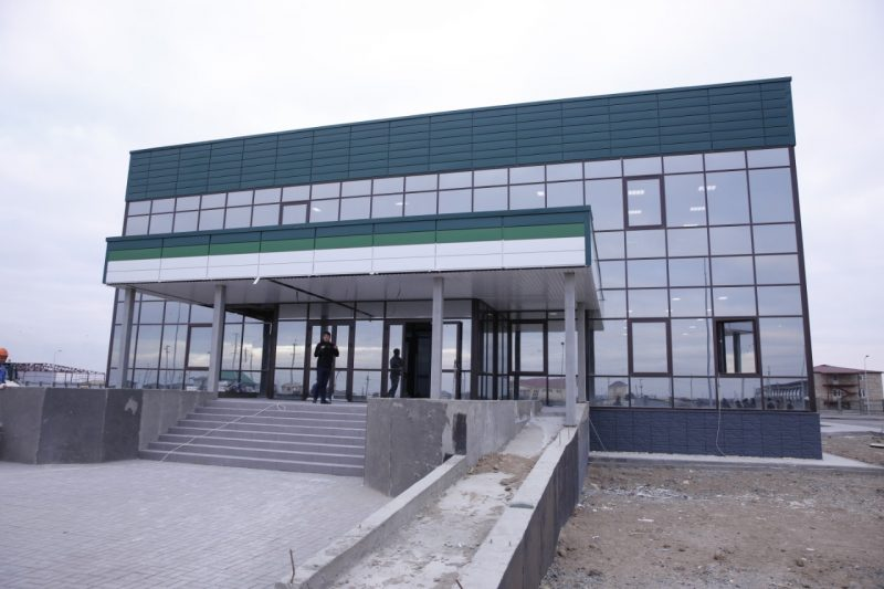 Новости Атырау - В Атырау завершается строительство специализированного ЦОНа