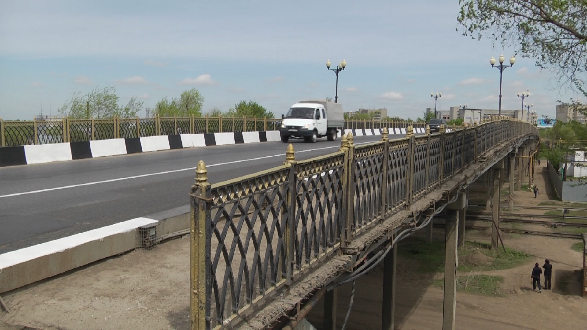 1 ноября на реконструкцию закроют омеговский мост в Уральске
