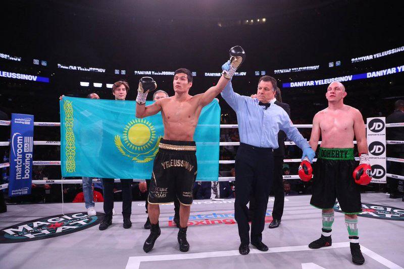 Новости - Данияр Елеусинов нокаутировал американца и одержал четвертую победу в профи (видео)