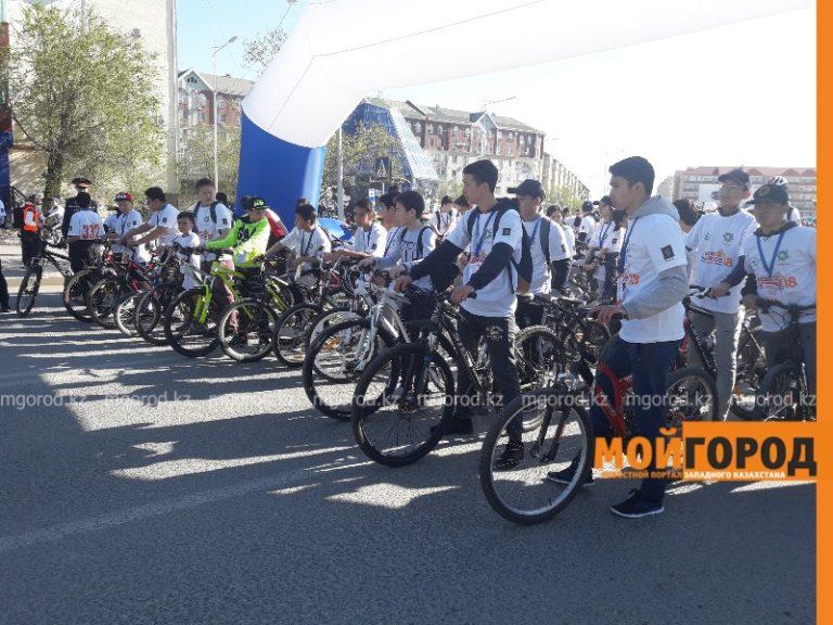 В Атырау во время велопробега временно ограничат движение