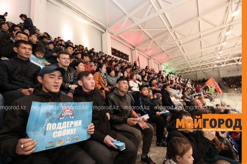 Новости Актобе - Хоккейная команда и Ледовый дворец появились в Актобе