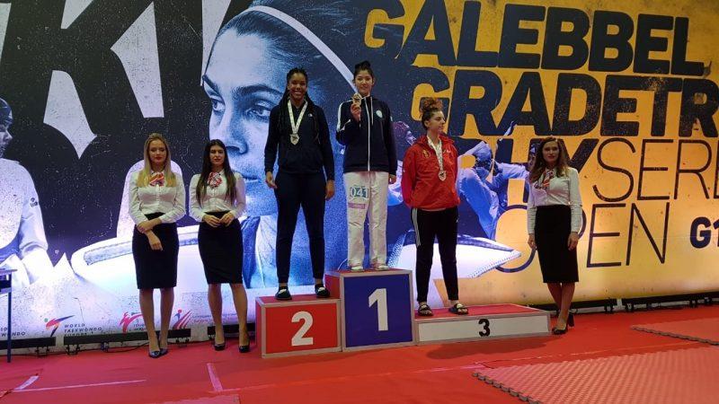 Новости Атырау - Атырауская таеквондистка завоевала золото на международном турнире в Сербии