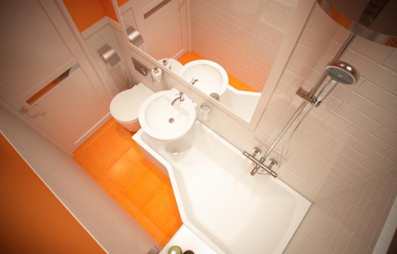 Новости PRO Ремонт - Даже маленькая ванная может быть уютной. 14 идей для скромных санузлов