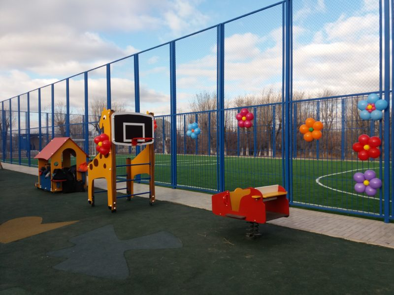Новости Атырау - В Атырауской области спонсоры построят пять спортивных площадок