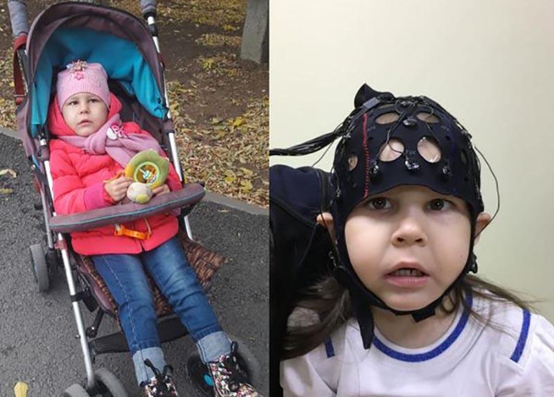 6-летняя девочка из Уральска борется со страшной болезнью