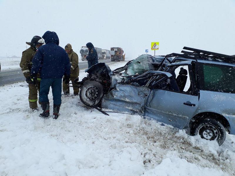 Пяторо жителей Актобе погибли в ДТП под Оренбургом